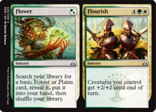 Flower/Flourish(ラヴニカのギルド)英語版