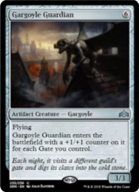 Gargoyle Guardian(ラヴニカのギルド)英語版