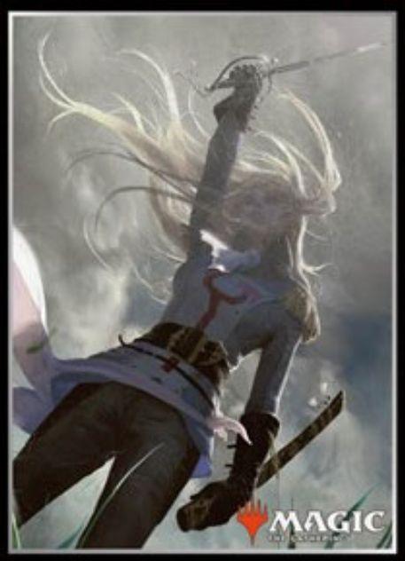 【スリーブ】スレイベンの守護者、サリア(闇の隆盛)のMTG公式スリーブ