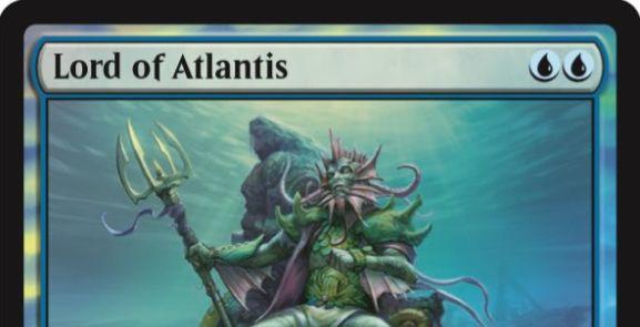 アトランティスの王(Lord of Atlantis)の新規アート版カードがジャッジ褒賞プロモとして登場!おれたちに足は・・・ある!?