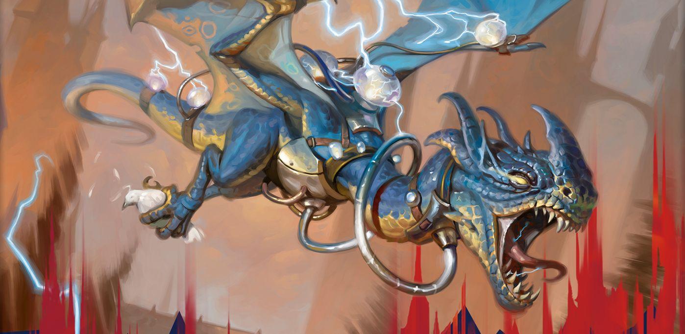 MOスタン全勝「イゼット・ドレイク」のデッキレシピ&考察がMTG公式に掲載!ラヴニカのギルド「弾けるドレイク」をメインアタッカーに据えた青赤デッキ!