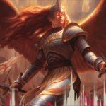 【アート】正義の模範、オレリア (ラヴニカのギルド)がMTG公式壁紙のラインナップに追加!ギルド「ボロス」に属する伝説神話天使!