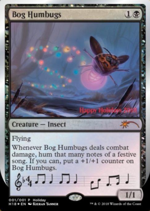 2018年のホリデーギフトプロモ「Bog Humbugs」(クリーチャー 昆虫)