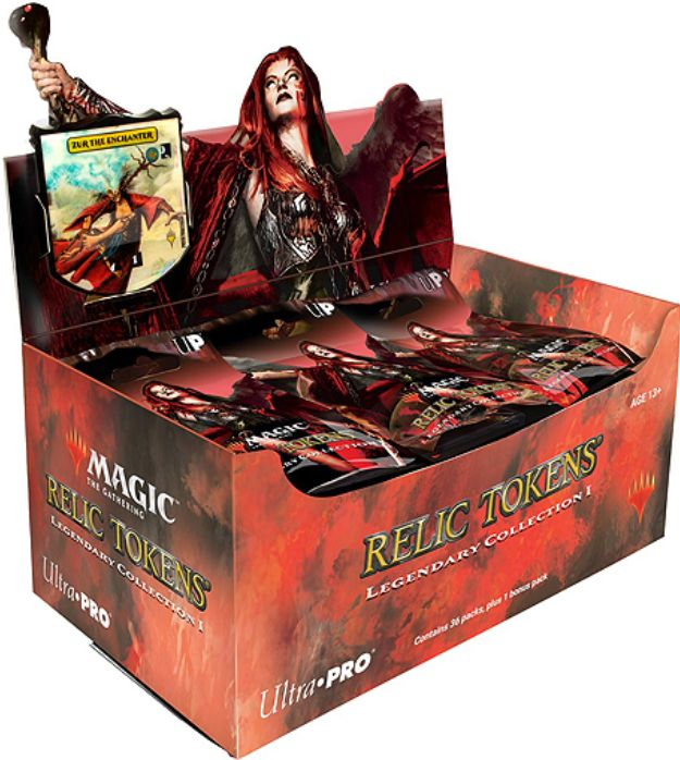 レリックトークン第3弾「Legendary Collection」が発売決定!18種の伝説カードがダイヤル付き特殊トークンに!