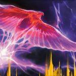【アート】弧光のフェニックス(ラヴニカのギルド)がMTG公式壁紙のラインナップに追加!ギルド「ボロス」に属する伝説神話天使!