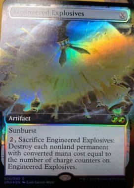 仕組まれた爆薬(Engineered Explosives)(No.28/40)