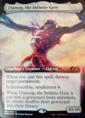 無限に廻るもの、ウラモグ(Ulamog, the Infinite Gyre)(No.04/40)