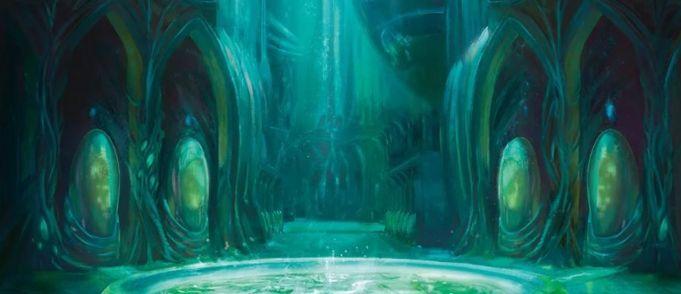 【ラヴニカの献身】繁殖池(Breeding Pool)の新規アートが公開!シミックのギルドランド!