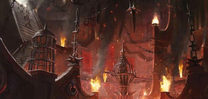 【ラヴニカの献身】血の墓所(Blood Crypt)の新規アート
