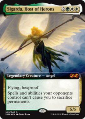 鷺群れのシガルダ(Sigarda, Host of Herons)アルティメットボックストッパー