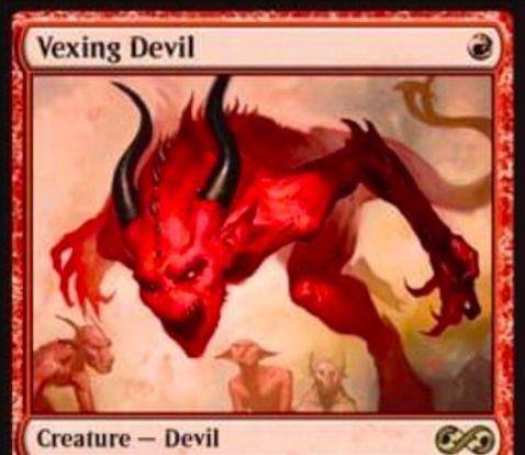 【アルティメットマスターズ】苛立たしい小悪魔(Vexing Devil)がアヴァシンの帰還より再録!