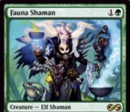 【アルティメットマスターズ】獣相のシャーマン(Fauna Shaman)が「マジック2011」より再録!