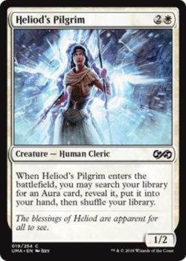 ヘリオッドの巡礼者(Heliods Pilgrim)アルティメットマスターズ