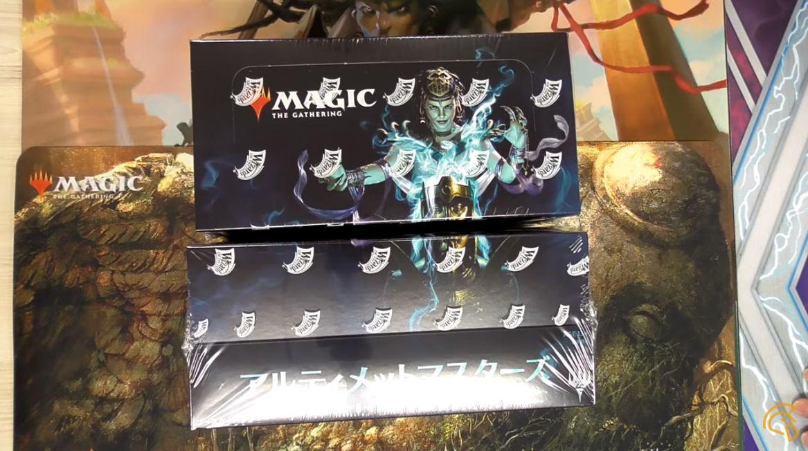 MTG「アルティメットマスターズ」のボックス開封動画がYouTubeで公開!カードショップ「黄鶏屋」様による2BOX開封!