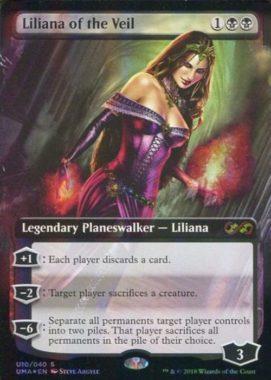 [神話R] : 【FOIL】Liliana of the Veil/ヴェールのリリアナ