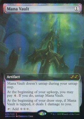 [神話R] : 【FOIL】Mana Vault/魔力の櫃