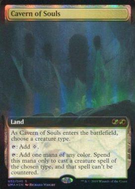 [神話R] : 【FOIL】Cavern of Souls/魂の洞窟
