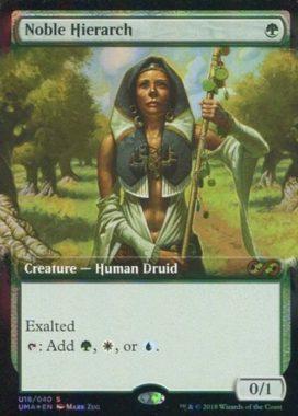 [神話R] : 【FOIL】Noble Hierarch/貴族の教主