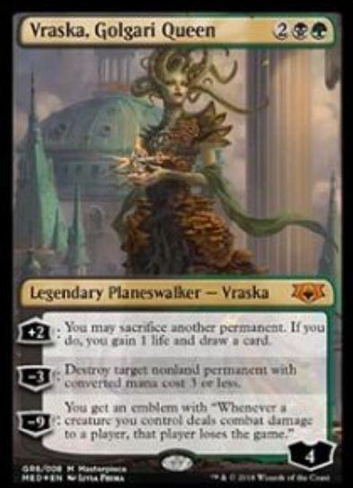 【シングル買取】ゴルガリの女王、ヴラスカ(Mythic Edition:ラヴニカのギルド)が駿河屋で買取受付中!