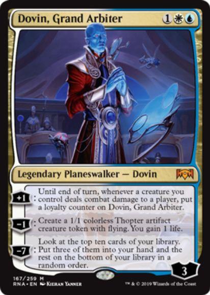 Dovin, Grand Arbiter(ラヴニカの献身)英語版