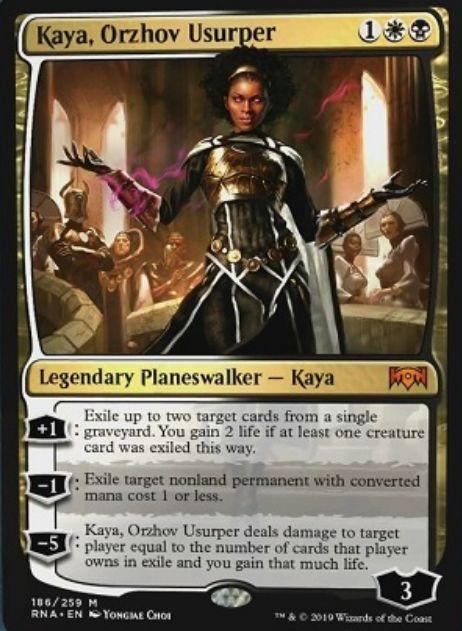 Kaya, Orzhov Usurper(ラヴニカの献身)英語版