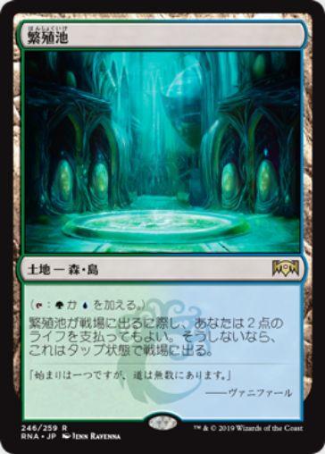 繁殖池(Breeding Pool)ラヴニカの献身・日本語版