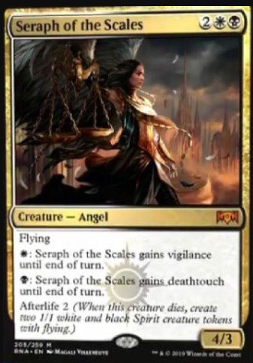 Seraph of the Scales(ラヴニカの献身)英語版