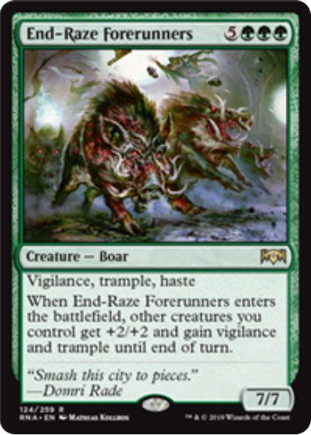 End-Raze Forerunners(ラヴニカの献身)英語版