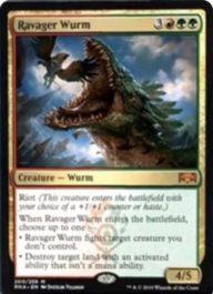 Ravager Wurm(ラヴニカの献身)英語版