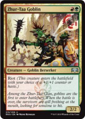 Zhur-Taa Goblin(ラヴニカの献身)英語版