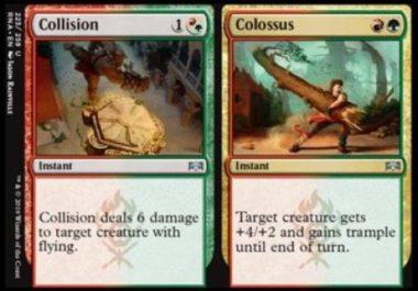 Collision/Colossus ラヴニカの献身