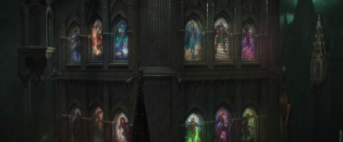 【灯争大戦】36人のプレインズウォーカーがセット内に収録!?公式PVのステンドグラスに描かれたPW達は「灯争大戦」に全員登場するのか?