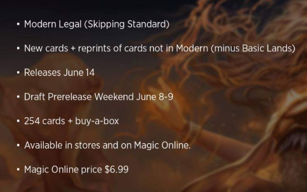 MTG「モダンホライゾン:Modern Horizons」の詳細情報(発売日など)