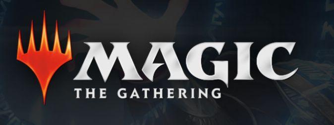 MTGの公式バナー(マジックザギャザリングの公式ロゴ)