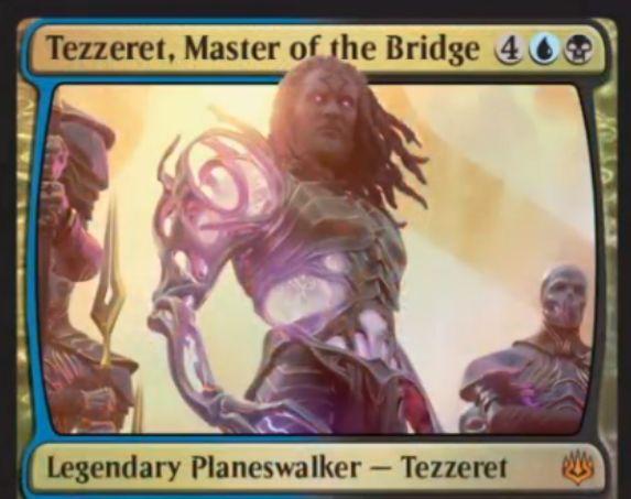 【灯争大戦】新テゼレット「Tezzeret, Master of the Bridge」が公開!