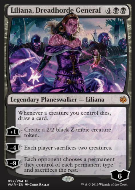 Liliana, Dreadhorde General(灯争大戦)