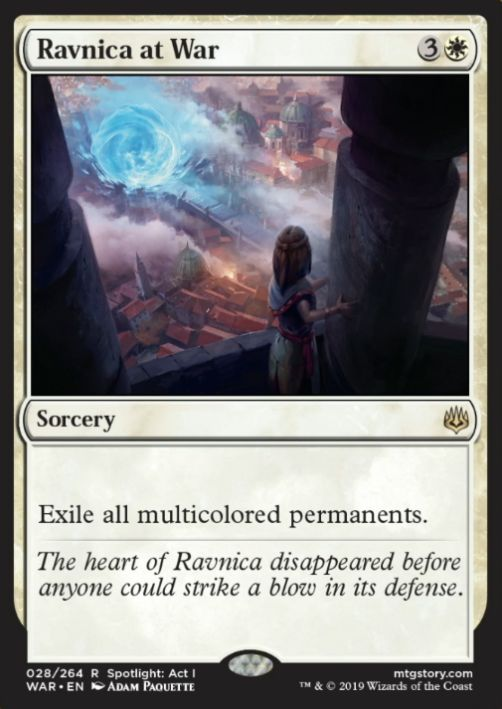Ravnica at War(灯争大戦)