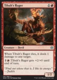 Tibalt's Rager(灯争大戦)