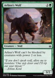Arlinn's Wolf(灯争大戦)