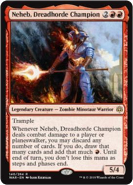 Neheb, Dreadhorde Champion(灯争大戦)
