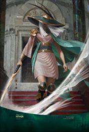 【アート】放浪者/The Wanderer(灯争大戦)スマホ壁紙