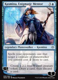 Kasmina, Enigmatic Mentor(灯争大戦)