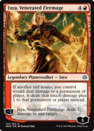 Jaya, Venerated Firemage(灯争大戦)