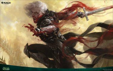【アート】復讐に燃えた血王、ソリン/Sorin, Vengeful Bloodlord(灯争大戦)PC壁紙