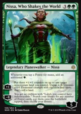 Nissa, Who Shakes the World(灯争大戦)