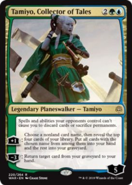 Tamiyo, Collector of Tales(灯争大戦)