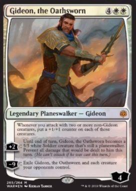 Gideon, the Oathsworn(灯争大戦 プレインズウォーカーデッキ)