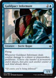 Guildpact Informant(灯争大戦 プレインズウォーカーデッキ)