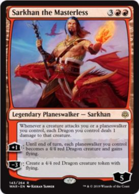 Sarkhan, the Masterless(灯争大戦)