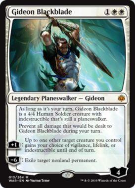 黒き剣のギデオン(Gideon Blackblade)英語版